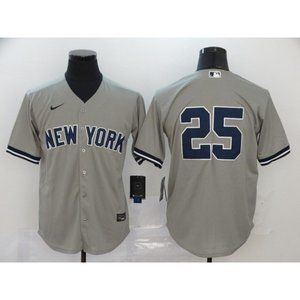 New York Yankees Gleyber Torres Gray  Game Jersey